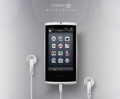 White Cowon S9 Curve 2