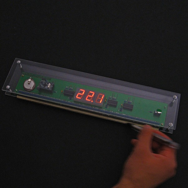 Wooden Electronic Ruler 2