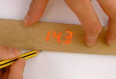 Wooden Electronic Ruler