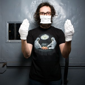 Space Invaders Autopsy T-Shirt