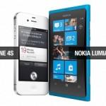 The Nokia Lumia 800 versus the iPhone 4S