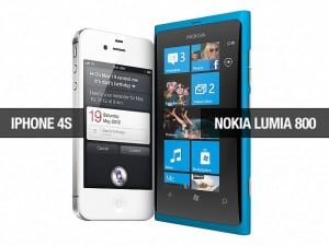 iphone 4s versus nokia lumia
