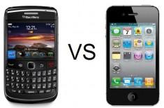 BlackBerry vs. iPhone